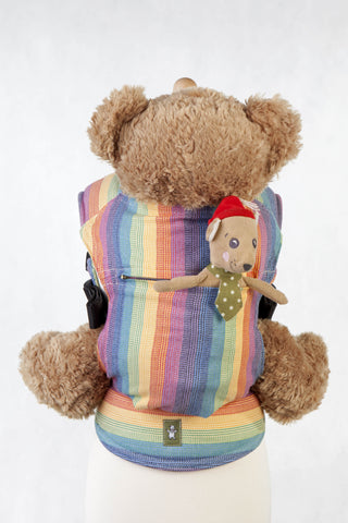 OceanoKidz.com - LennyLamb Doll Carrier - Luna (100% Cotton)
