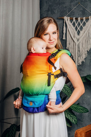 LennyUpGrade Carrier - Rainbow Baby (Jacquard Weave 100% Cotton)