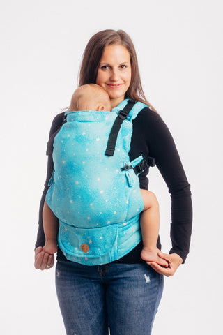 OceanoKidz.com - LennyUpGrade Carrier - Twinkling Stars - Perseids (Jacquard Weave 96% Cotton 4% Metallised Yarn)