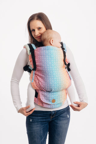 LennyUpGrade Carrier - Big Love Rainbow (Jacquard Weave 100% Cotton)