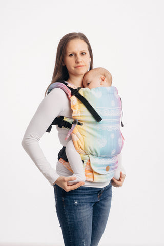 LennyUpGrade Carrier - Rainbow Lace (Jacquard Weave 100% Cotton)