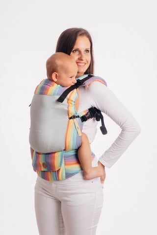 LennyUpGrade Mesh Carrier - Luna (Broken-Twill Weave 75% Cotton, 25% Polyester)