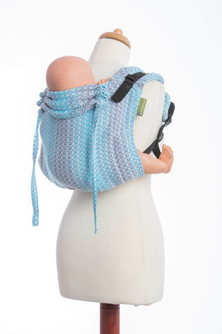 OceanoKidz.com - LennyLamb Buckle Onbuhimo - Little Love Breeze (Jacquard Weave 100% Cotton)