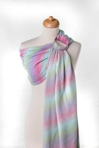 OceanoKidz.com - LennyLamb Ring Sling - Little Herringbone Impression (Herringbone Weave 100% Cotton)