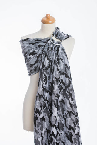 LennyLamb Ring Sling - Grey Camo (Jacquard Weave 100% Cotton)