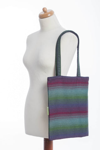 OceanoKidz.com - LennyLamb Shopping Bag - Little Herringbone Impression Dark