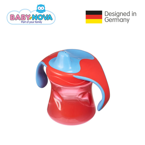 OceanoKidz.com - Baby Nova Trainer Cup 220 ml in Red/Blue (6+ months)