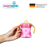 OceanoKidz.com - Baby Nova Trainer Cup 220 ml in Magenta/Orange (6+ months)