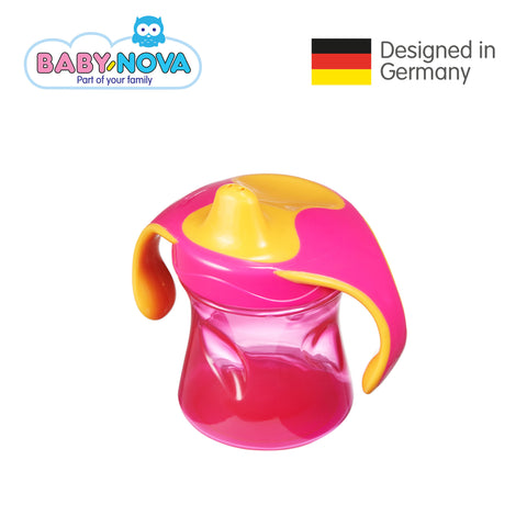 Baby Nova Trainer Cup 220 ml in Magenta/Orange (6+ months)
