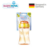 OceanoKidz.com - Baby Nova Straw Cup 300 ml in Orange (6+ months)