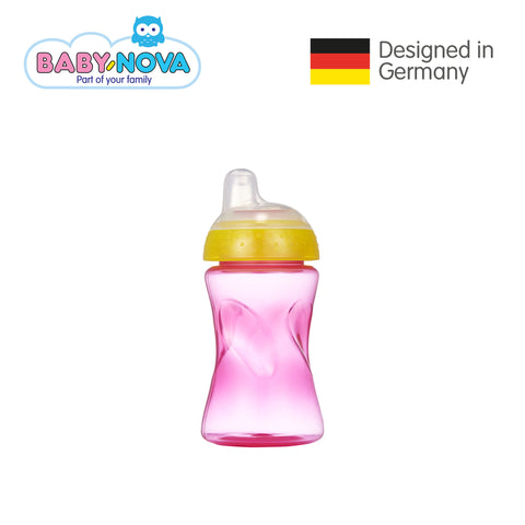 Baby Nova Non-Spill Cup 300 ml in  Magenta/Orange (6+ months)