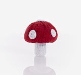 OceanoKidz.com - Pebble Vegetable Rattles - Toadstool