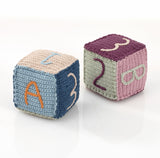 OceanoKidz.com - Pebble Toy Block - Organic Blue