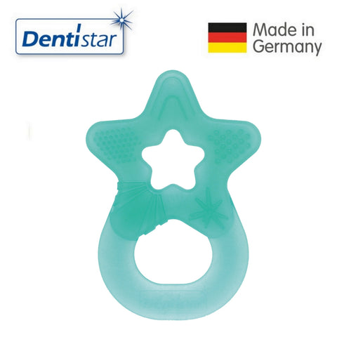 Dentistar Tooth-friendly Star Teether (3+ months) - Turquoise