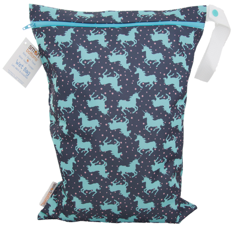 OceanoKidz.com - Smart Bottoms On the Go Wet Bags - Unicorn Dreams