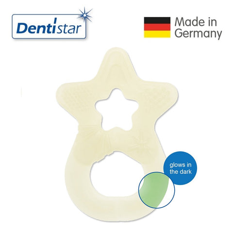 OceanoKidz.com - Dentistar Tooth-friendly Glow-In-The-Dark Teether (3+ months)