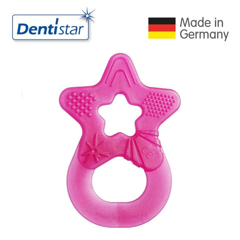 OceanoKidz.com - Dentistar Tooth-friendly  Teether (3+ months) - Magenta