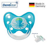 OceanoKidz.com - Dentistar Tooth-friendly Pacifier Silicone (14+ months) size 3, with protective cap - Octopus