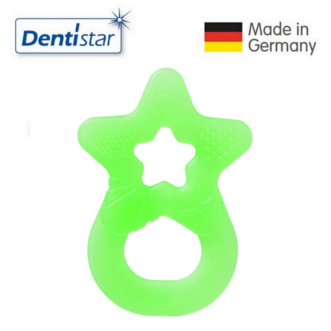 Dentistar Tooth-friendly Star Teether (3+ months) - Green