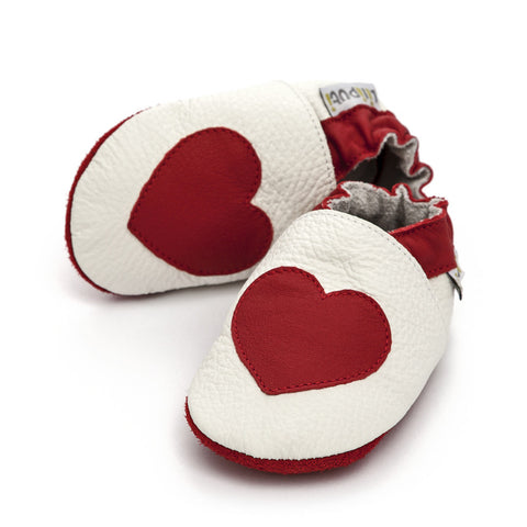 Liliputi® Soft Leather Baby Shoes - Love