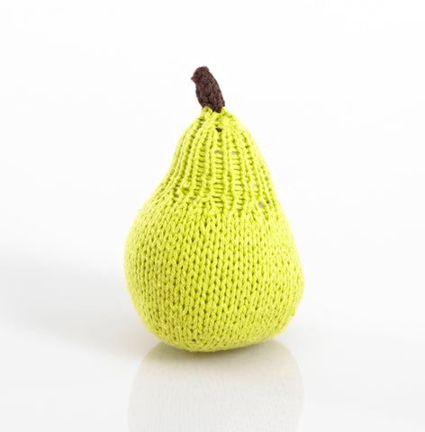 Pebble Fruit Rattles – Pear