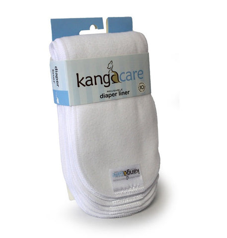 Kanga Care - Washable Diaper Liner, 10 pack