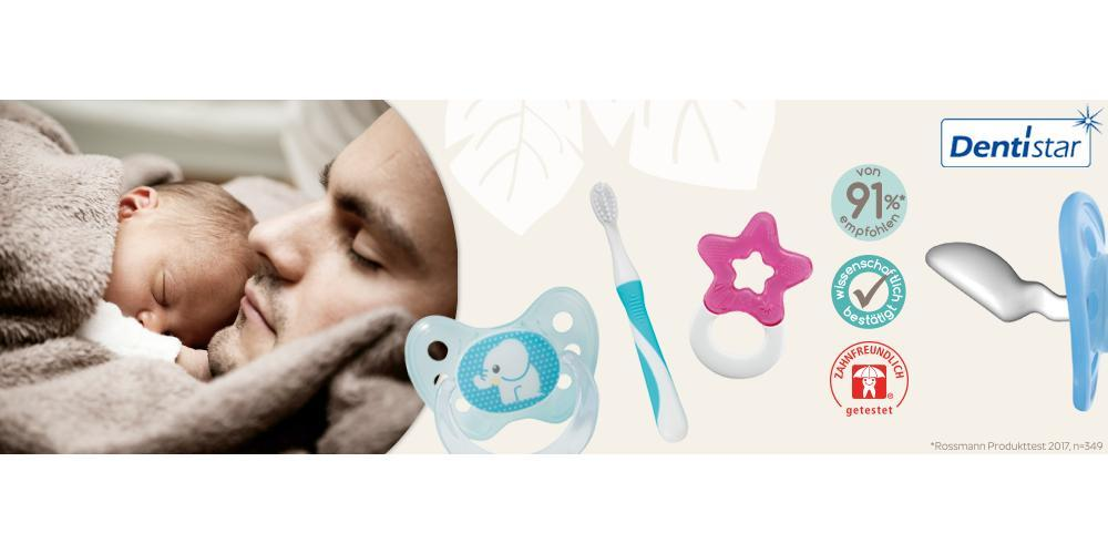 Dentistar Toothfriendly Orthodontic Pacifier Singapore Baby Fair