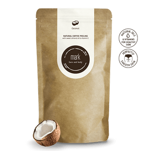 MARK Coffee Coconut Scrub Forward Group