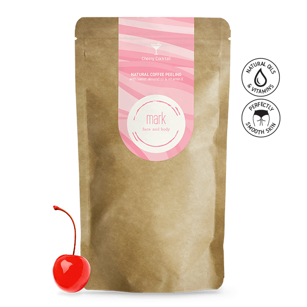 MARK coffee scrub Cherry Cocktail MARK face and body 150g