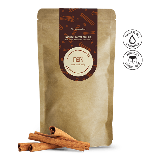 MARK coffee scrub Cinnamon Chai MARK Face And Body