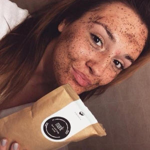 MARK coffee scrub Coconut 100g Scrub MARK Cosmetics