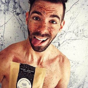 MARK coffee scrub for HIM after GYM Scrub Forward Group