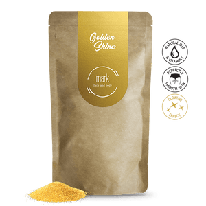 MARK coffee scrub Golden Shine - so zlatými trblietkami Scrub MARK scrub Slovensko