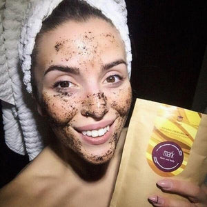 MARK coffee scrub Nougat MARK Face And Body