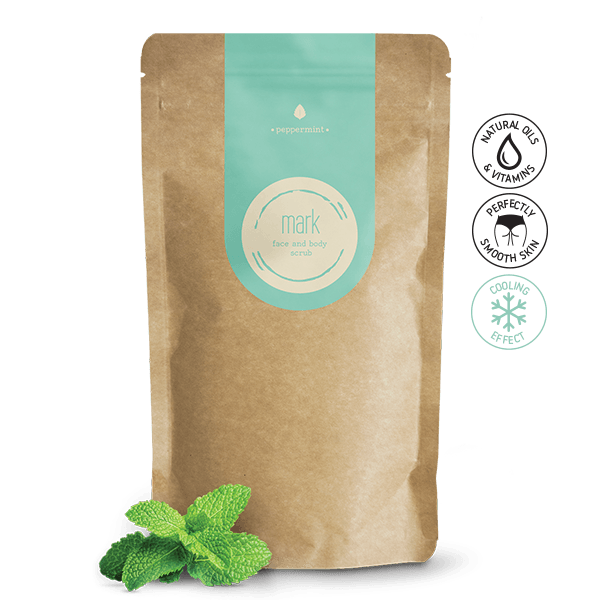 MARK coffee scrub Peppermint - s chladivým efektom Scrub Forward Group