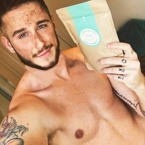 MARK coffee scrub Peppermint - s chladivým účinkom Scrub Forward Group