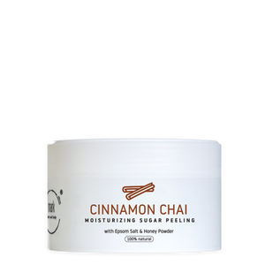 MARK sugar scrub CINNAMON CHAI - s medovým práškom MARK face and body
