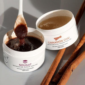 MARK sugar scrub Nougat - s kakaovým práškom MARK Face And Body