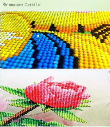 2016 5D Diamond Embroidery Diamond mosaic Oil painting flowers picture 5D diy diamond painting cross stitch needlework flores