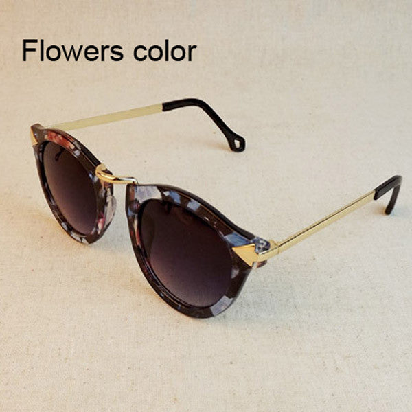 2017 Brand Designer Vintage Trend Sunglasses For Women Men Round Retro Sun Glasses Sports Oculos De Sol