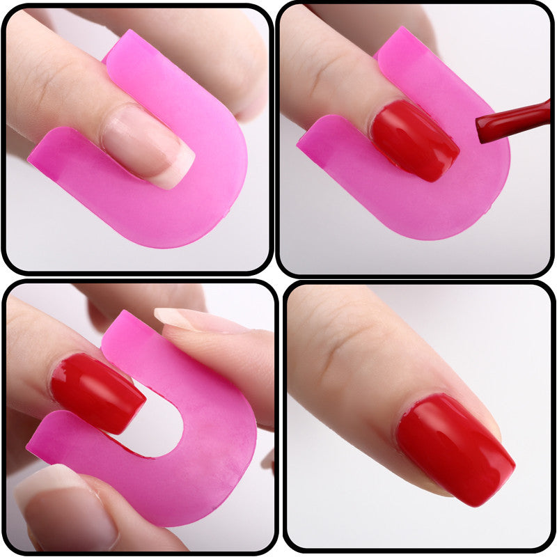 26pcs/set Creative Nail Polish Spill-Resistant Manicure Finger Cover Nail Polish Molds Shield Special Nail Art Tool Popular