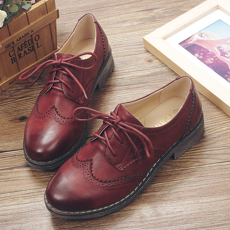 FLAT Oxford shoes for women flats new autumn 2016