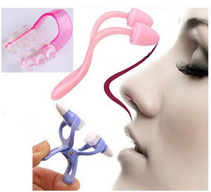 3pcs Magic Nose Shaping Shaper Lifting Bridge Straightening Beauty Clip+ Nose Up Clip +Nose Massage Tools Correction Set New