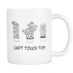 Can't Touch This Mug - Funny Coffee Custom Mugs & Tea Cup, personalized coffee mugs, custom travel mugs, best coffee, gift ideas, Gifts for women, her, girlfriend, sister