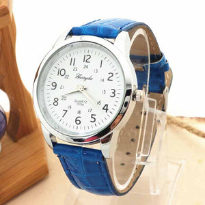 2016 New Arrival, 1PC Women Men Bling Elegant Dress Watch
