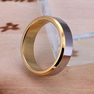Silver plated  Ring Fine Fashion Forever Love Steel Ring Women & Men Gift Silver Jewelry Finger Rings