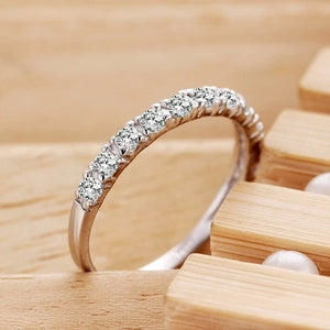 Lose money promotion wholesale romantic forever love super shiny zircon 30% percent silver plated ladies`finger rings