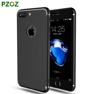 iphone 7 Case Silicone Cover For iphone 7 Plus Transparent Color Slim Phone Protection Soft Shell i7 4.7 5.5