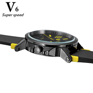 Simple elegant brand quartz watch high quality silicone men outdoor sports watches multicolor women beautiful wristwatch