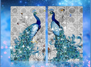 5D Diamond Embroidery Paintings Rhinestone Pasted diy Diamond painting cross Stitch Animal Peacock diamond mosaic Room Decor